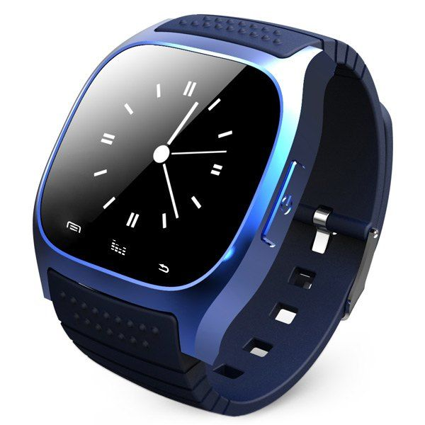$18.75 RWATCH M26 Bluetooth Watch LED Light Display with Dial / Call Answer / SMS Reminding / Music Player / Anti-lost / Passometer / Thermometer for Samsung / HTC