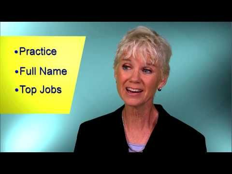 Kerry Hannon on Creating a Video Resume