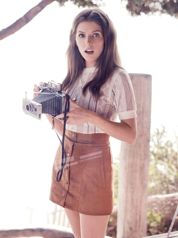 Анна Кендрик — Фотосессия для «Glamour» 2015 – 3