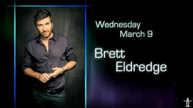 Brett Eldredge Rodeo Houston 2016 March 9th