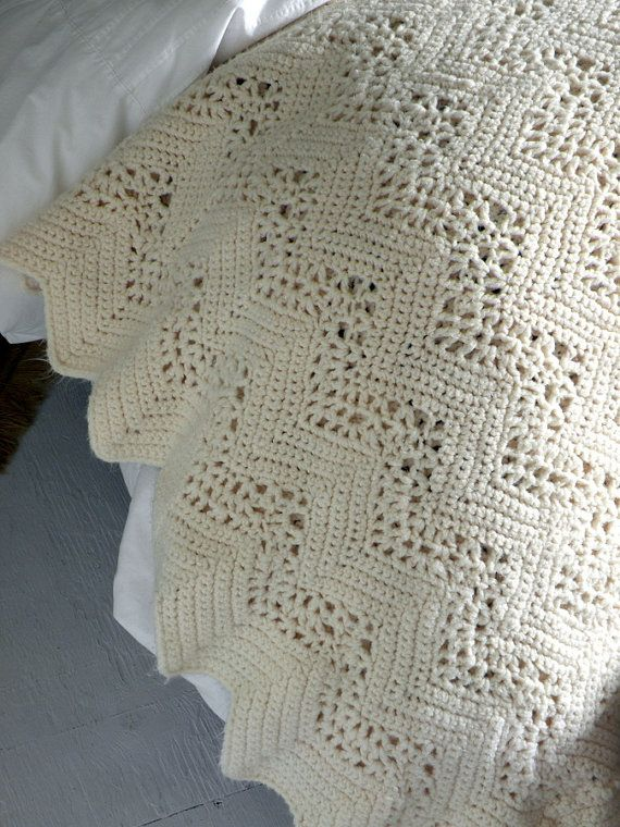 No Pattern, Just love the look of the blanket