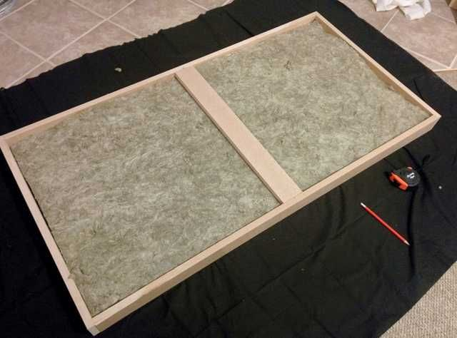 Acoustic Panels On The Cheap Acoustic Panels Diy Acoustic Panels Sound Panels Diy
