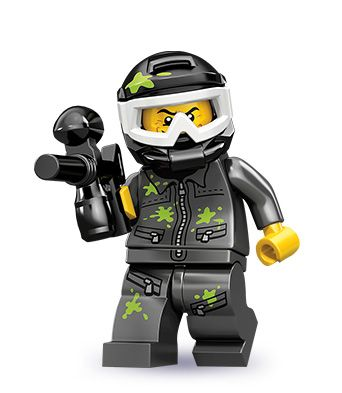 Series 10, Paintball Player