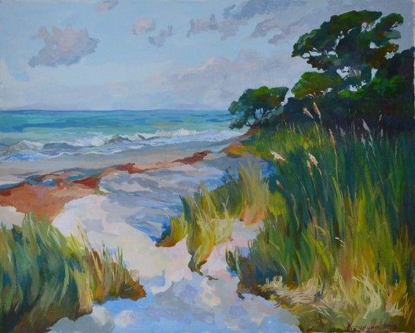 Armand Cabrera copy, трава в дюнах