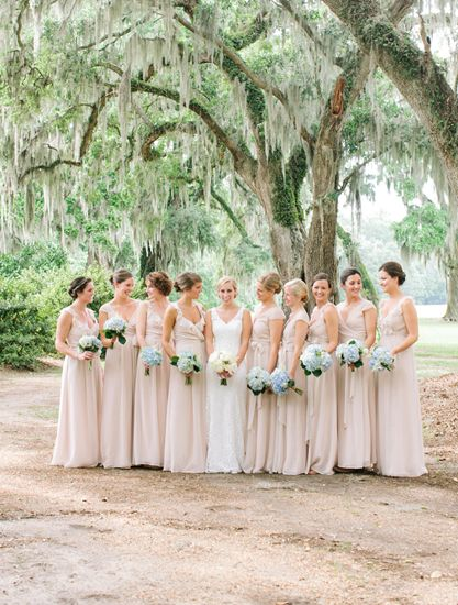17 Best images about Joanna August on Pinterest | Wedding Bridesmaid gowns and Neutral ...