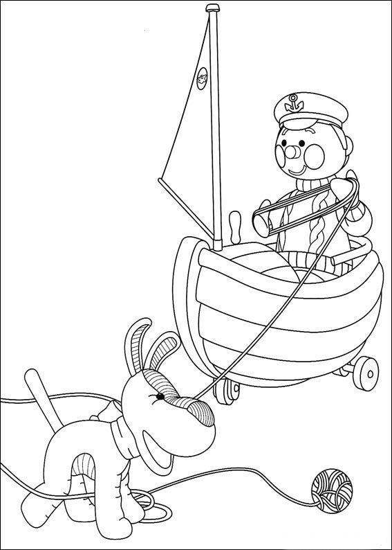 andy pandy 32 dibujos faciles para dibujar para niños