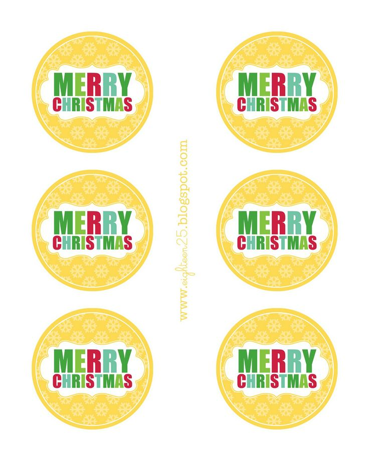 130 best label it images on pinterest printable labels free christmas tag for baked goods or packages negle Images