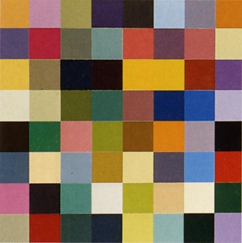 Richter Color Chart Paintings