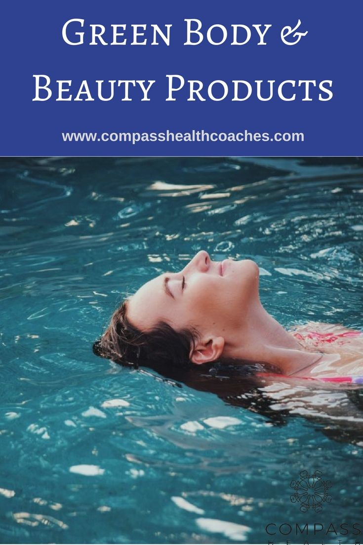 green bath and body products