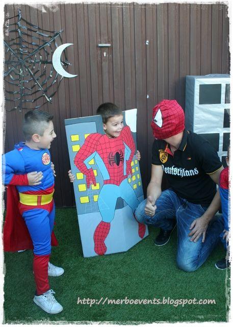 spiderman cardboard