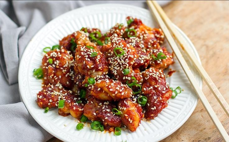 Korean Chilli Chicken Paleo & Gluten Free   Food Recipes