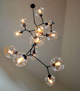 molecule light bulbs fixture