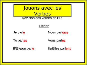 french er ir re verbs worksheets 1000 images about pinterest project on french verbs passe. Black Bedroom Furniture Sets. Home Design Ideas
