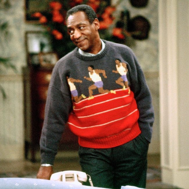 Probably the greatest Bill Cosby sweater period.