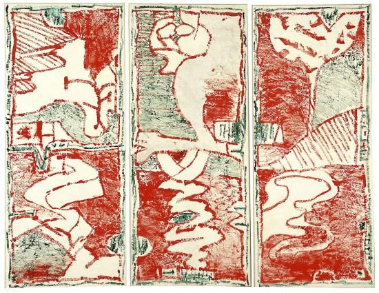 Galerie Lelong - oeuvres - Pierre Alechinsky