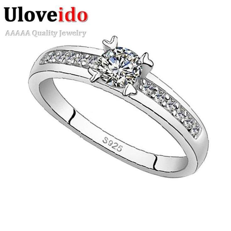 Find More Rings Information about Flower Crystal Ring 925 Sterling Silver Jewelry Rings for Men and Women Bijoux Bague Femme Anel Masculino Designer Ulove J411,High Quality jewelry buying,China jewelry transport Suppliers, Cheap jewelry bag from ULOVE Fashion Jewelry on Aliexpress.com