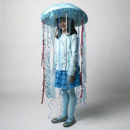 Halloween craft: Jellyfish Costume   Crafts   Spoonful