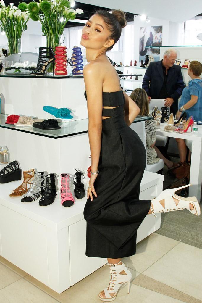 Daya by Zendaya shoe line launch 8/5/15