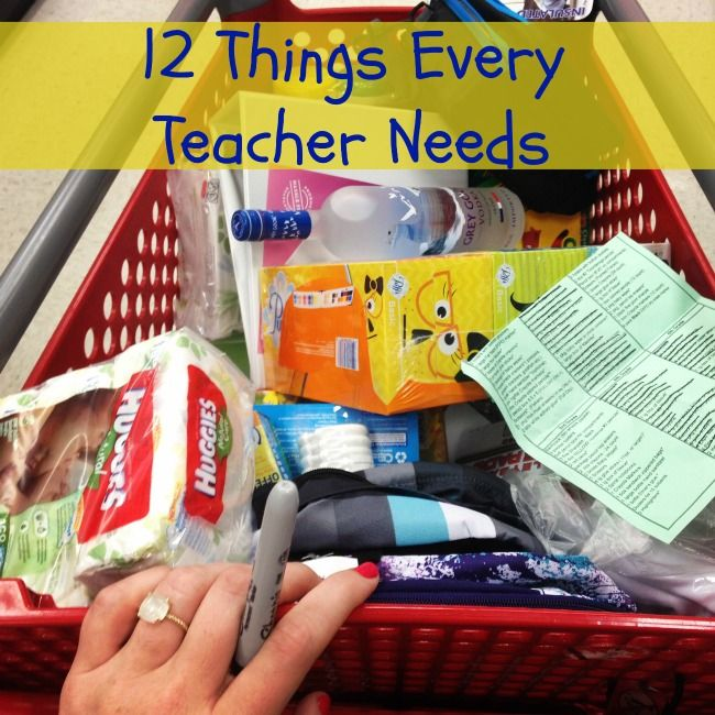12 things every teacher needs: 12 Things, Mama Losin, Kids Teacher, Awesome Possum