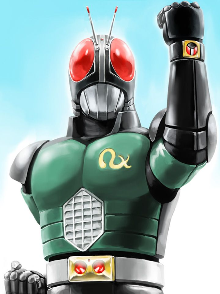 Kamen Rider Black RX - 1988/89