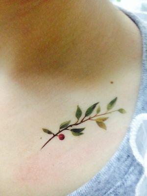 (Ordine minimo $0.5) impermeabile tatuaggio temporaneo tatoo hennè falso flash autoadesivi del tatuaggio Taty tatto Olive branch SYA024