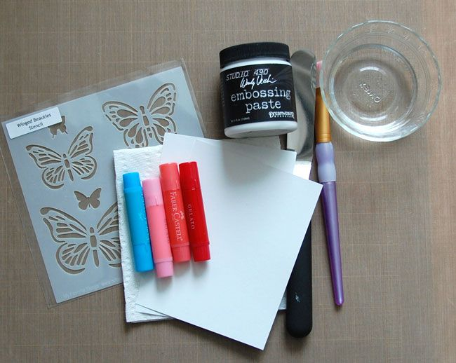 Free paper crafts tutorial! Learn how to use Gelatos to create a vibrant ombré background or soft watercolor wash for your handmade cards.