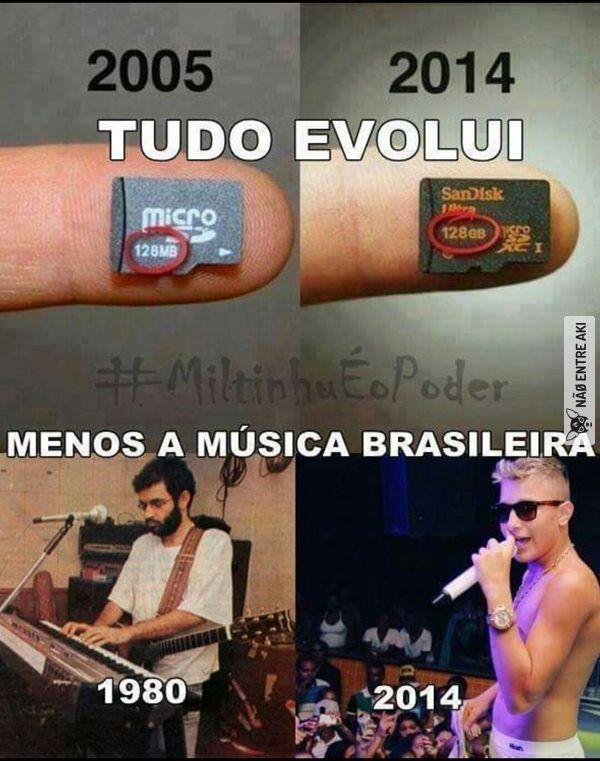 r.i.p. música brasileira
