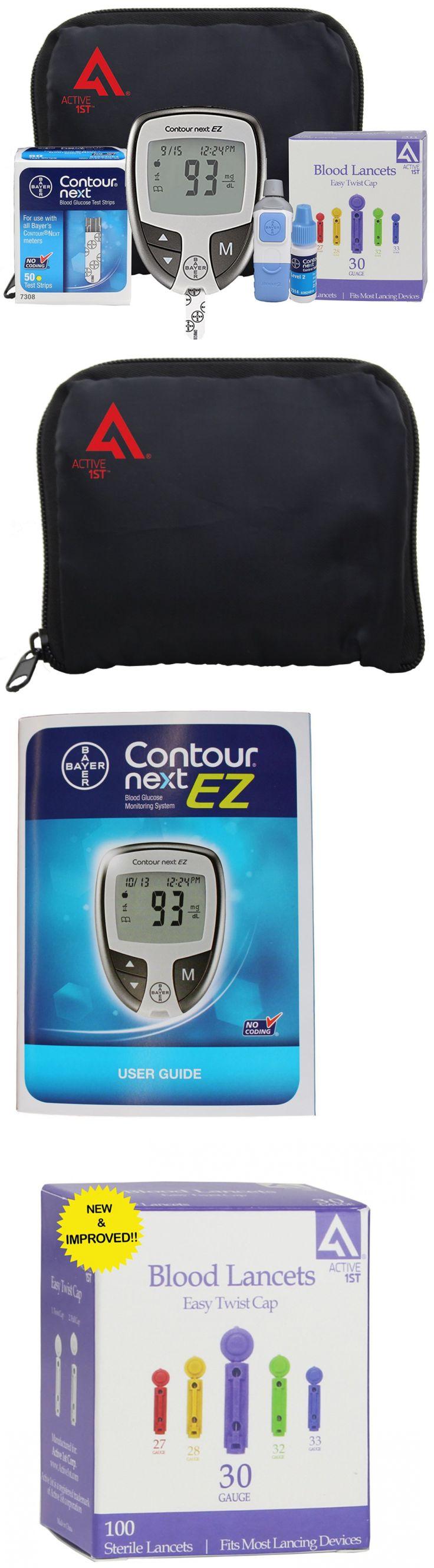 Monitoring Kits: Diabetes Testing Kit (Bayer Contour Next Ez Meter + 50 Bayer Contour Next Test S -> BUY IT NOW ONLY: $61.58 on eBay!