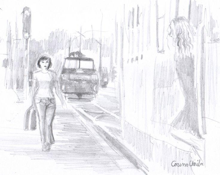 Pe un peron in gara Stau singura si astept Astept ca ea sa apara Si inima imi bate tare-n piept  O vad din tren cum coboara Si inima-mi se umple de dor Si scanteia iubirii ma infioara Gandind…