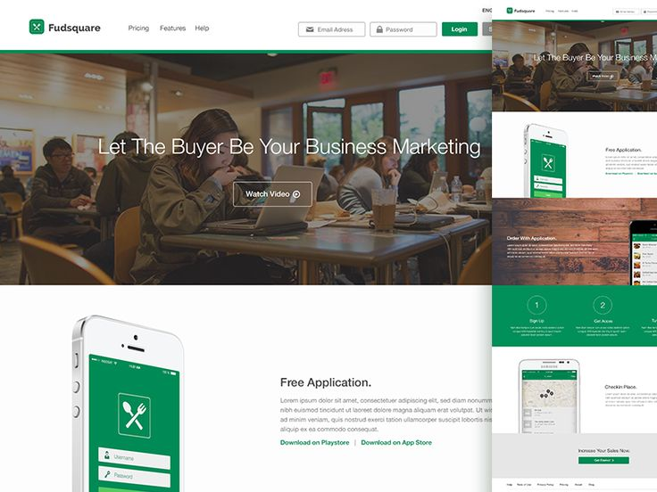 Fudsquare Website by Muhamad Reza Adityawarman