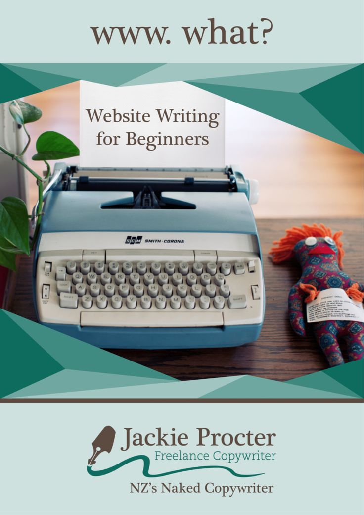 website writing ebook