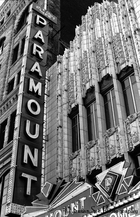 Paramount theatre, built in 1930, was listed on the National Register of Historic Places in 1980. Denver, Colorado, USA @ Susan See Photography Print sold @ http://fineartamerica.com/featured/the-paramount-susan-see.html