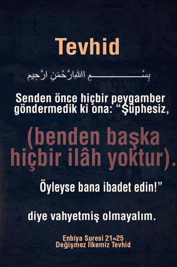 #tevhid #ayet