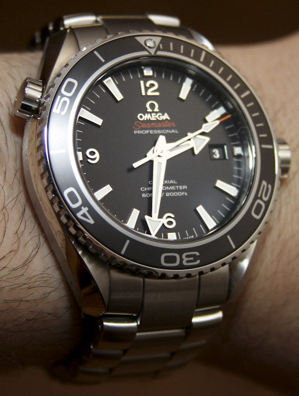 Omega Seamaster Planet Ocean Co-Axial Chronometer Watch Review Wrist Time Reviews