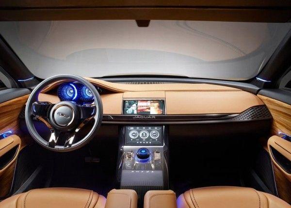 2013 Jaguar C X17 5 Seater Luxury Dashboard 600x429 2013 Jaguar C X17 5 Seater Review, Design, with Images
