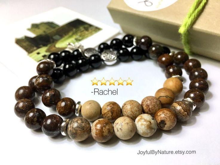 A fun gift for Guinness lovers. Pint-of-Stout gemstone bracelet for men & women. Handmade. In my Etsy shop. https://www.etsy.com/listing/258223758/unique-womens-gift-for-her-womens?utm_content=buffer6092c&utm_medium=social&utm_source=pinterest.com&utm_campaign=buffer #etsymntt #guinness #irish #giftsforhim  #giftsforher