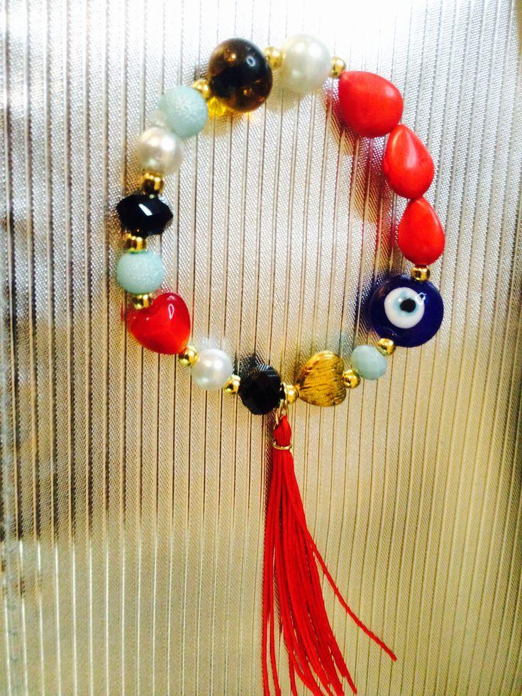 pulseras de colores bisuteria