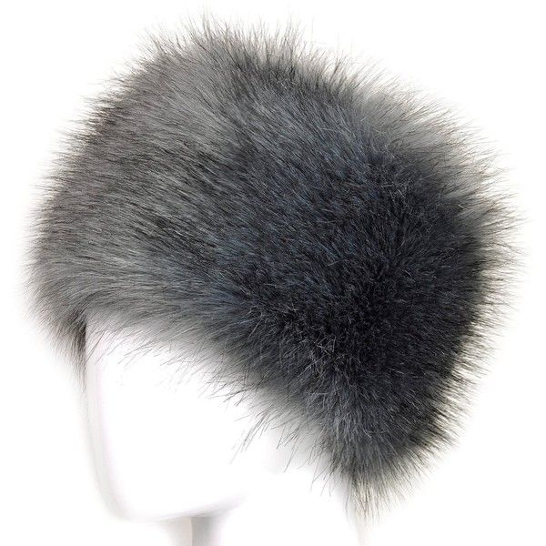 Futrzane Faux Fur Cossak Russian Style Hat for Ladies Winter Hat for... ($23) ❤ liked on Polyvore featuring accessories, hats, faux fur hat en fake fur hats