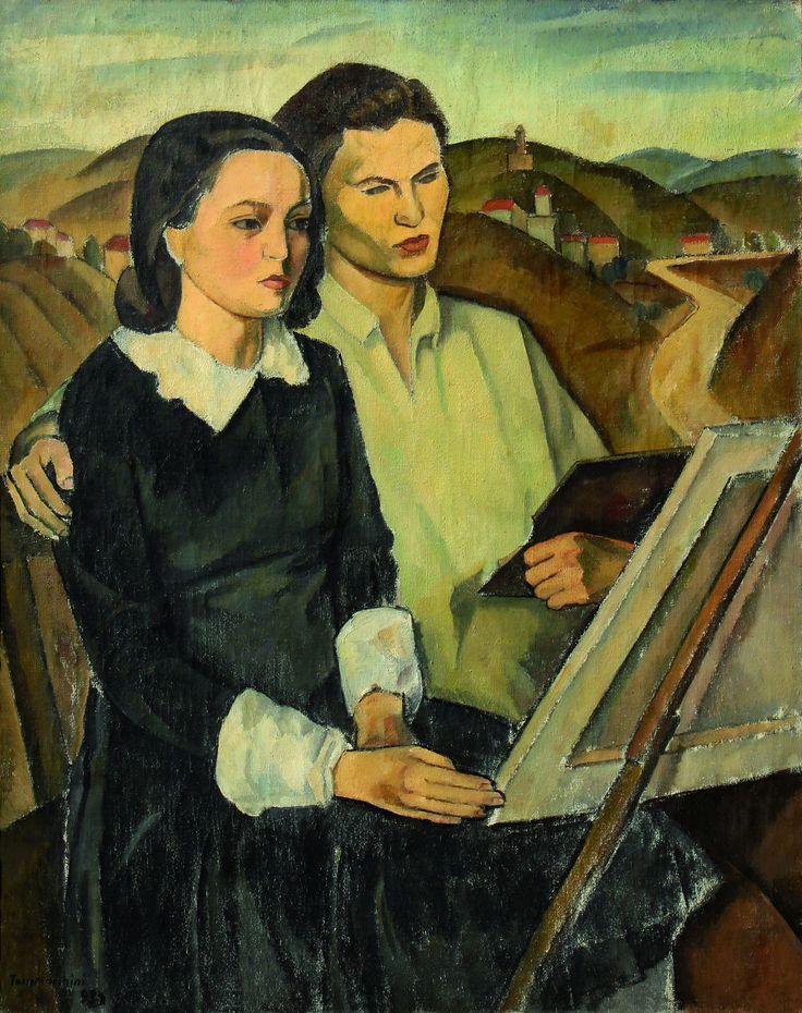 Tasso Marchini (Serbian/Italian, worked in Romania; 1907-1936) - Composition