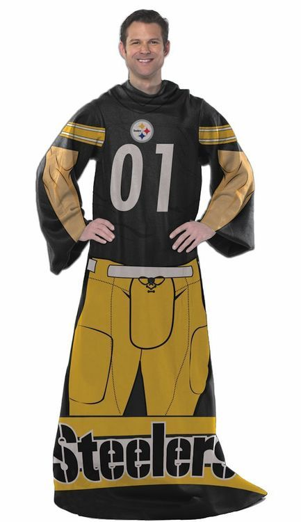Pittsburgh Steelers Blanket Comfy Throw Player Design