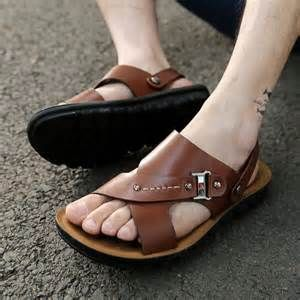 men wearing sandals - Bing images
