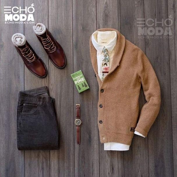 25 طقم ملابس رجاليه كاجوال منسق شتاء 2021 Men Casual Casual Outfits Outfit Sets