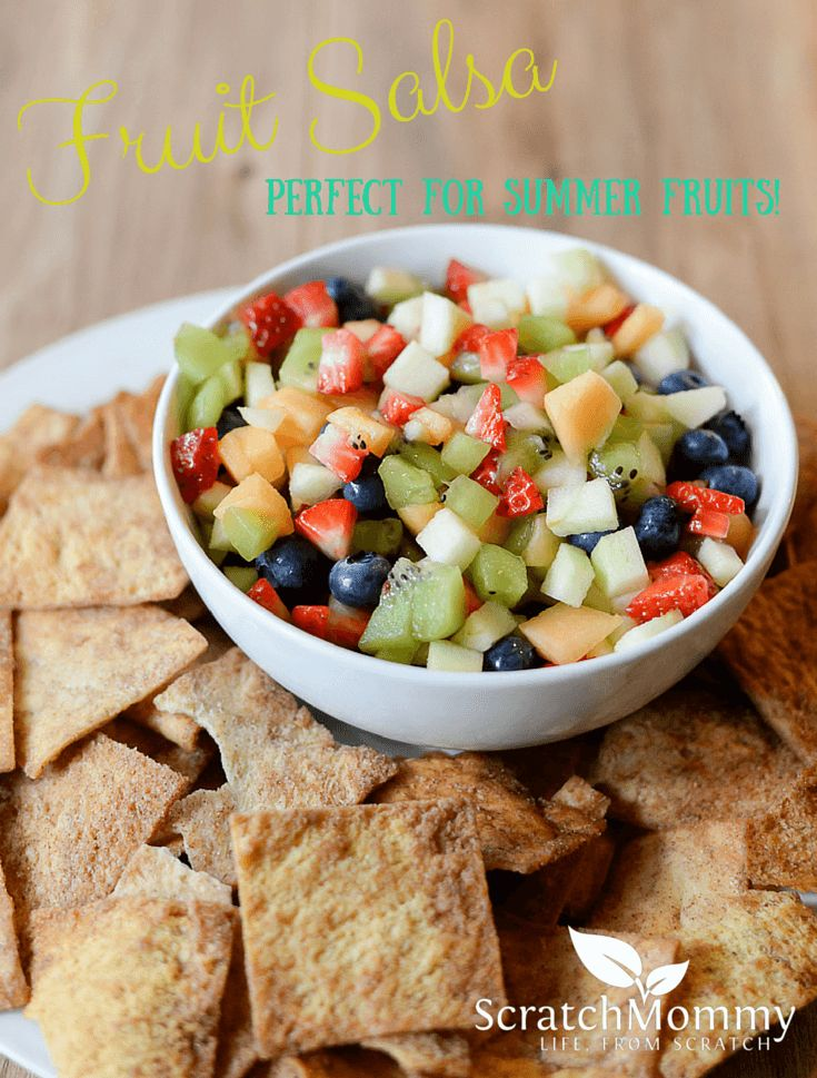 Fruit Salsa Recipe - Easy and Delicious