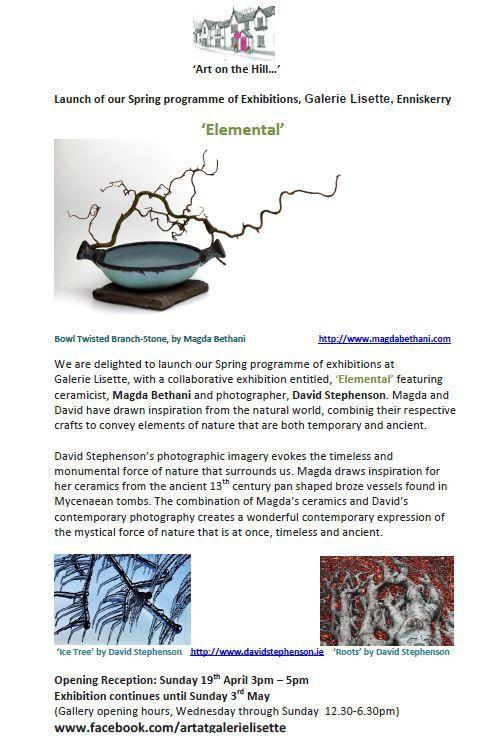 Magda Bethani Ceramics   Elemental