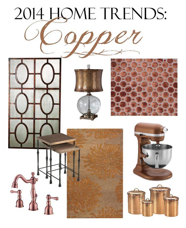2014 Home Trends: Copper   Brass & Whatnots