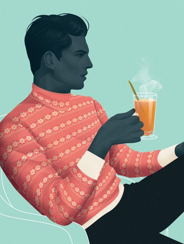 Mod Men Illustrations by Jack Hughes | Trendland