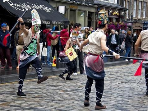 The Fringe has returned to Edinburgh, along with the traditional fanfare of pop-up bars, fireworks, street performers and flyers.