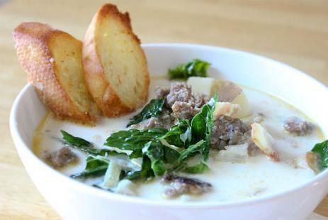 Тосканский суп рецепт - тосканский суп с картофелем рецепт :: Еда из холодильника :: JV.RU