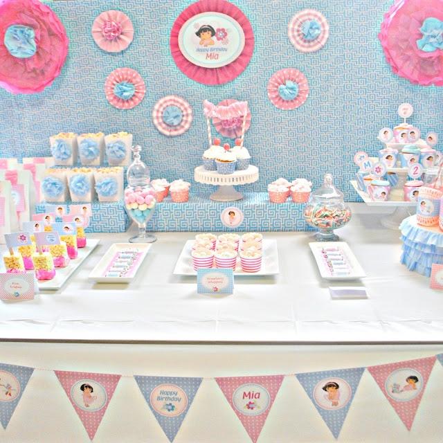 Pretty Dora Party