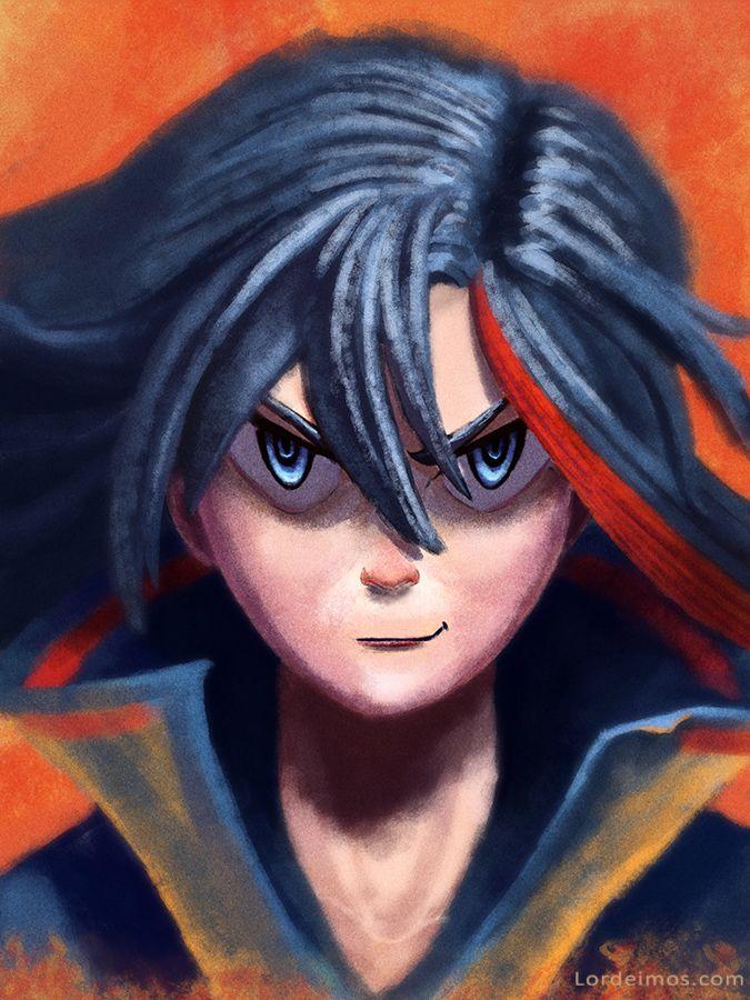 Ryuko by LorDeimos.deviantart.com on @DeviantArt